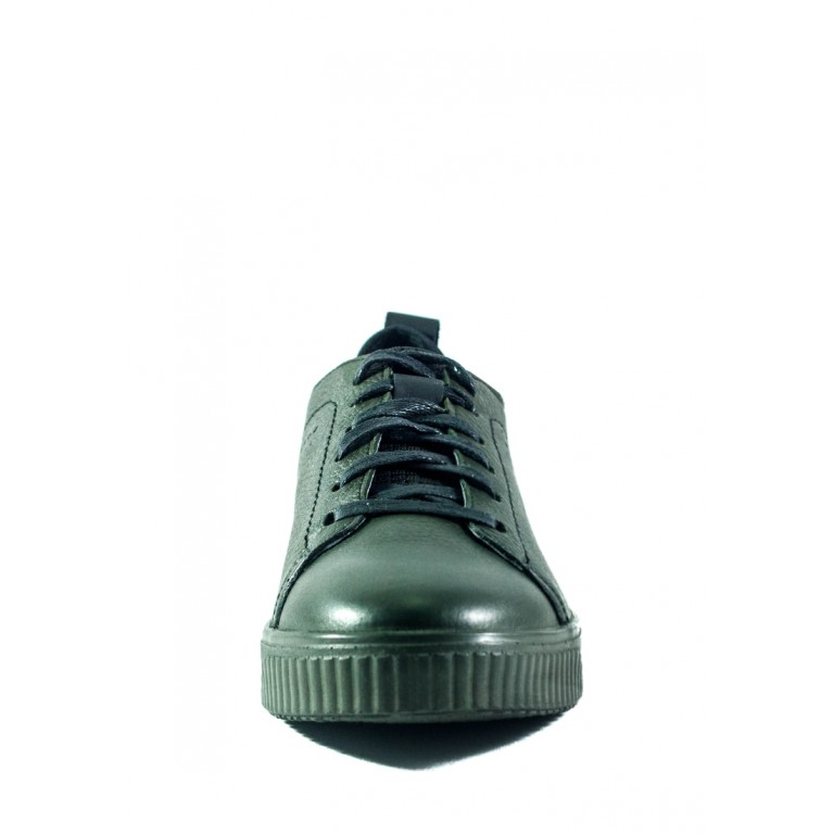 Кеды мужские MIDA 110962-670 темно-зеленые