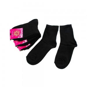 Носки женские Рубеж-Текс 100 черные 36-39