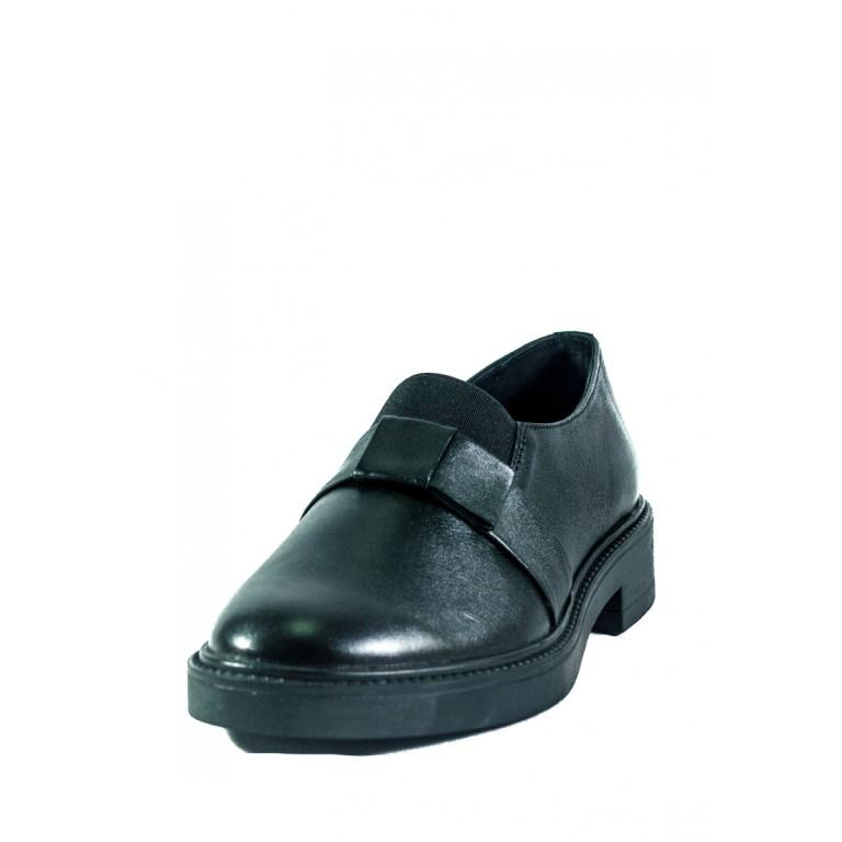 Туфли женские MIDA 210230-1 черные