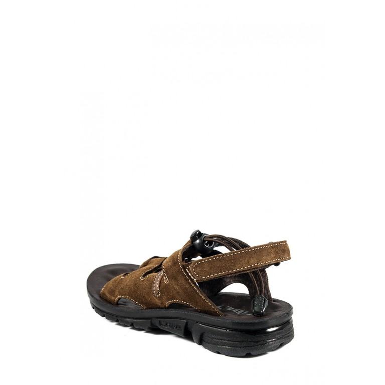 Сандали подростковые TiBet 6-1 коричневые