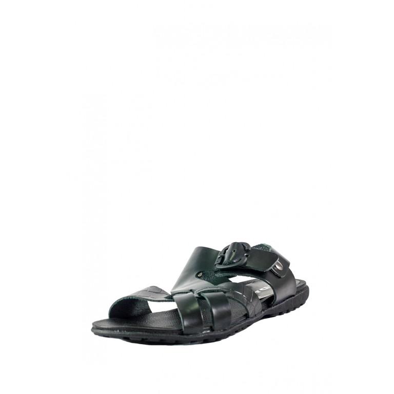 Сандали мужские MIDA 13487-537 черная кожа