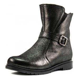 Ботинки зимние женские SND SDZ29 темно-серая кожа