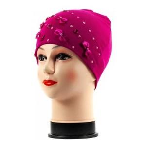 Бант-мини-1 шапка розовая