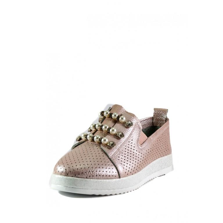 Кеды женские Allshoes 87565-1 светло-розовые
