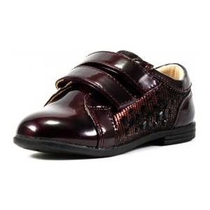 Туфлі дитячі Сказка бордовий 15971