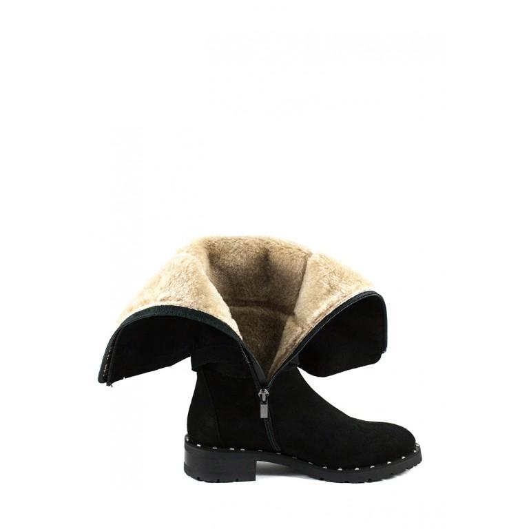 Сапоги зимние женские MIDA 24873-17Ш черные