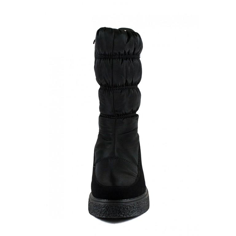 Сапоги зимние женские Prima D'arte 1480-F157 черные