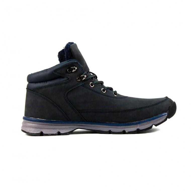 Ботинки зимние мужские Restime WK604A синий