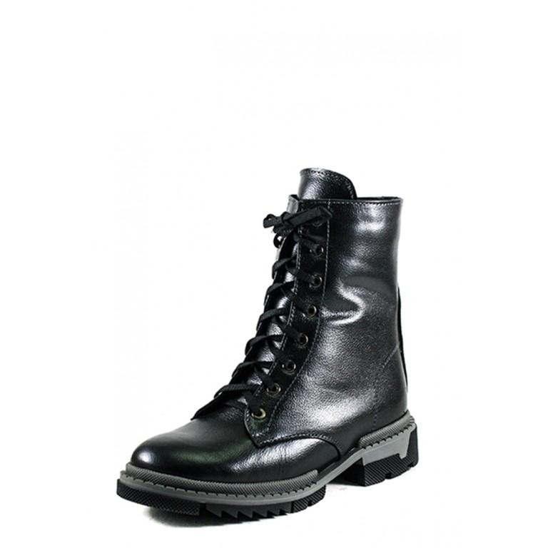 Ботинки зимние женские SND SDAZ А11 черные