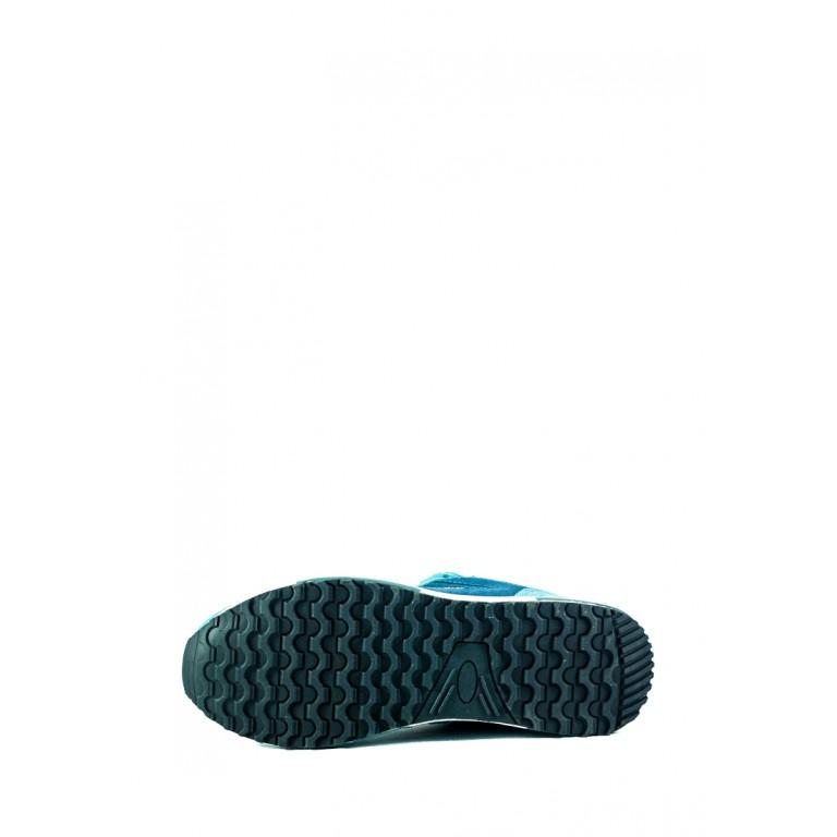 Кроссовки женские Demax B8561-1 бирюзовые
