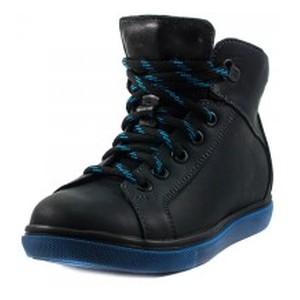 Ботинки зимние детские MIDA 44035-4Ш темно-синяя кожа