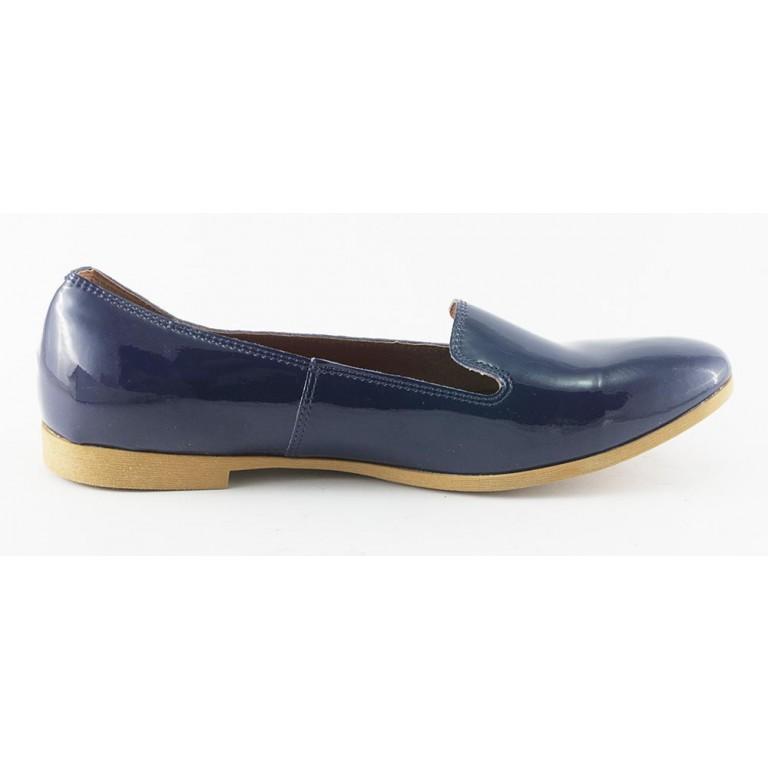 Слиперы женские In Trend 2272/1 синий лак