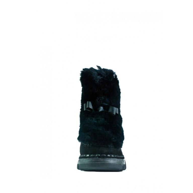 Ботинки зимние женские Allshoes СФ 103-2903-2 черные