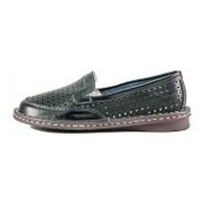 Слиперы женские Allshoes 77937-5 черная кожа