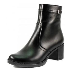 Ботинки демисезон женские SND SDAZ-502 черная кожа