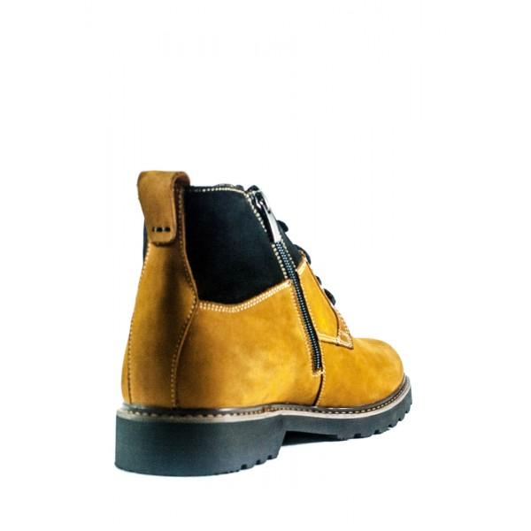 Ботинки зимние мужские MIDA 14980-379Ш светло-коричневые
