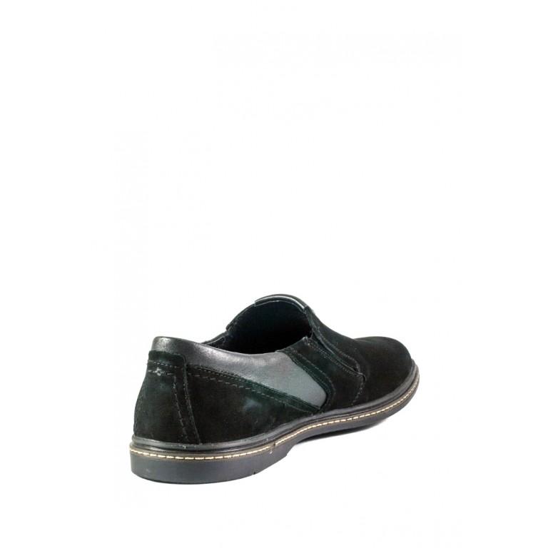 Мокасины мужские MIDA 110395-9 черный нубук