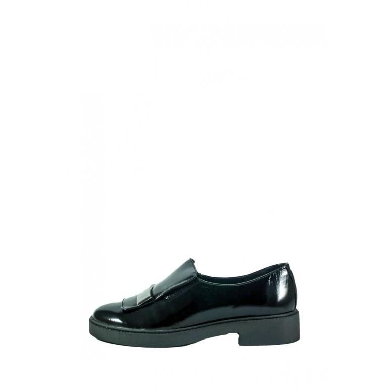 Туфли женские MIDA 210258-134 черные