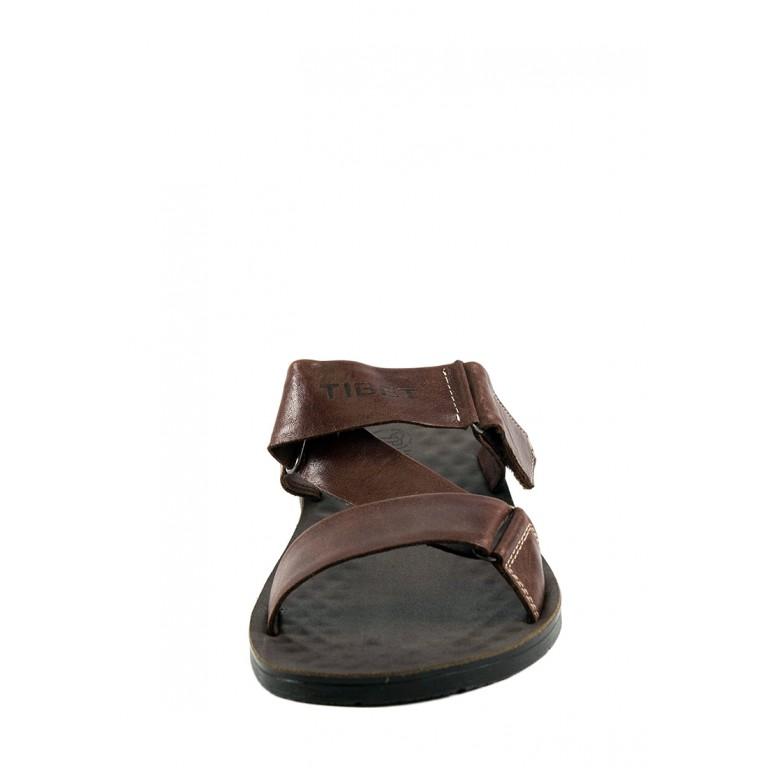 Шлепанцы мужские TiBet 50 GS темно-коричневые