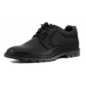 [:ru]Туфли мужские MIDA 110727-3 черная кожа[:uk]Туфлі чоловічі MIDA чорний 16319[:]