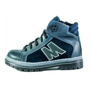 Ботинки зимние детские MIDA 44059-4Ш темно-синие
