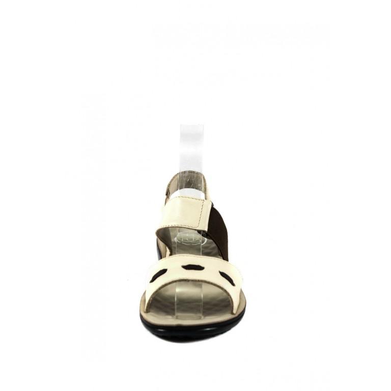 Сандалии женские TiBet 493-02-09 кремовые