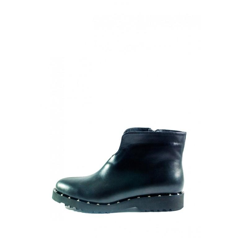 Ботинки демисезон женские CRISMA 040B-EVA чк черные