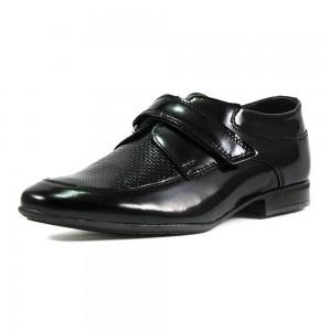 Туфли подростковые MIDA 31182-134 черная кожа