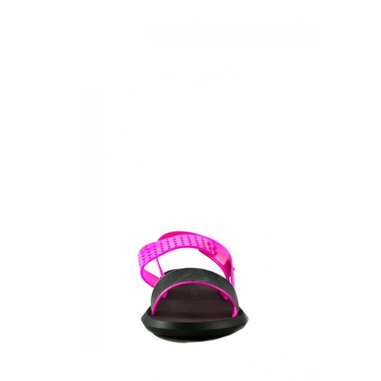 Босоножки женские летние Rider 83010-20753 черно-розовые