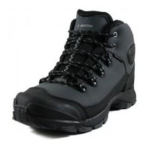 Ботинки зимние мужские Restime PMZ19158 серо-черные