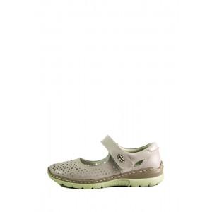 Туфли женские Allshoes 203-759-1 бежевые