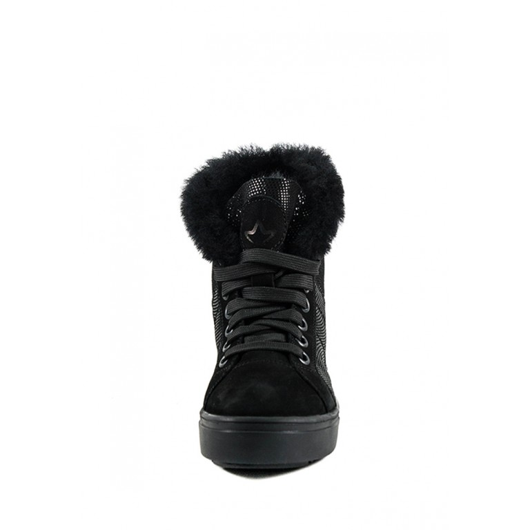 Ботинки зимние женские MIDA 24738-52Ш черные