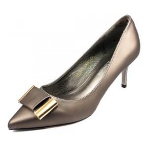 Туфли женские Fabio Monelli D595-1 темно-серый