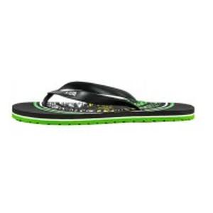 Шлепанцы мужские Bitis 20973-A черно-зеленые
