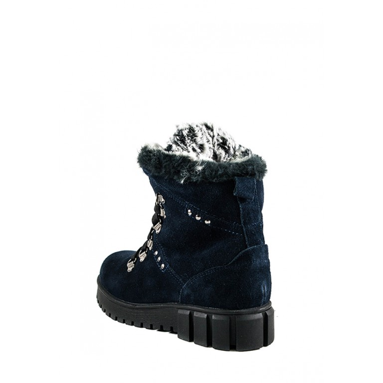 Ботинки зимние женские MIDA 24765-250Ш синие