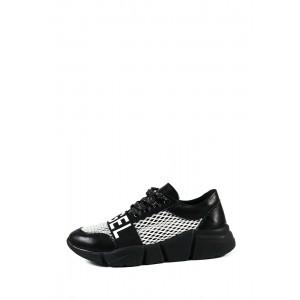 Кроссовки летние женские SND 12677-040-2 черные