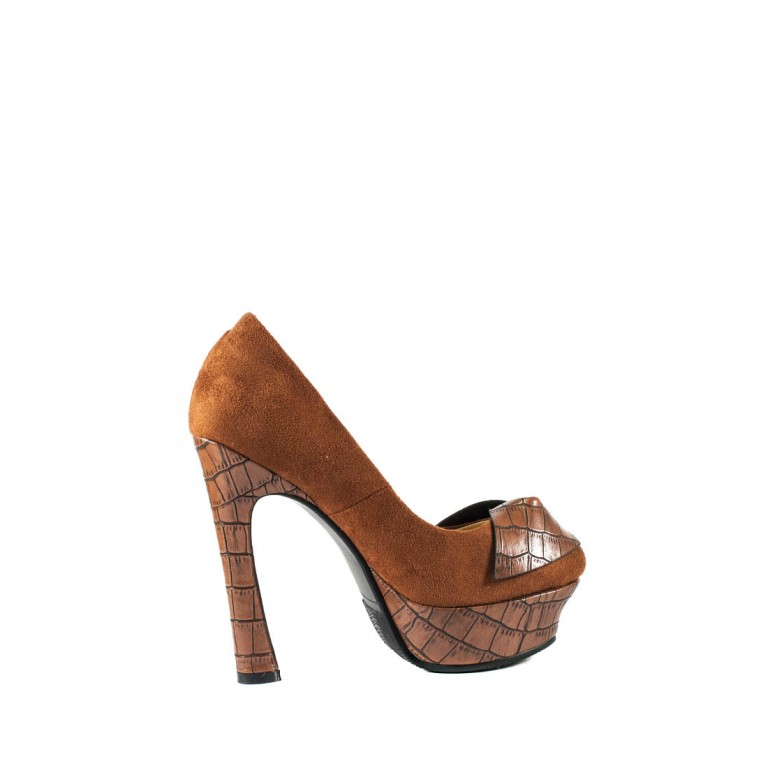 Туфли женские Elmira S3-229T коричневый