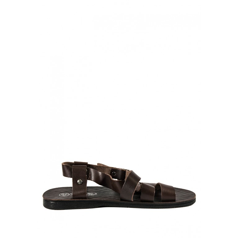 Сандалии мужские TiBet 10-11 темно-коричневые