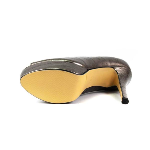 Туфли женские Fabio Monelli 8801-3 серебро
