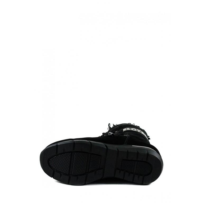Ботинки зимние женские Lonza 3790-S641 черные