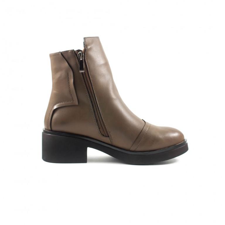 Ботинки демисезон женские Fabio Monelli M177-6313B коричневые