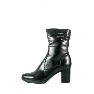 Ботинки зимние женские SND SDZ65 черная кожа