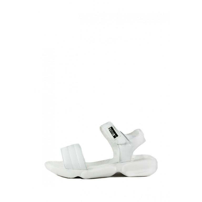 Сандалии женские SND 22616-1 белые