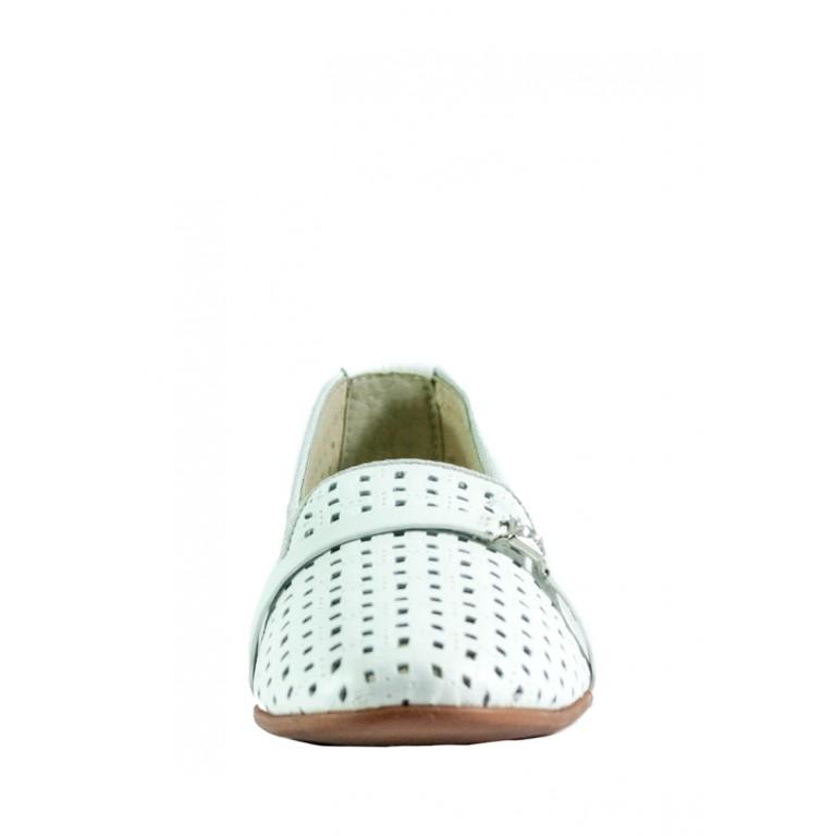 Слиперы женские MIDA 23657-34 белые