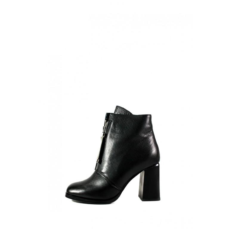 Ботинки демисезон женские Fabio Monelli W2083-620322A черные