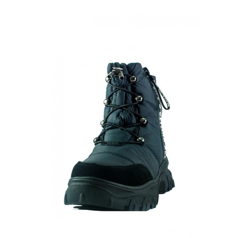 Ботинки зимние женские Lonza СФ 3951-N581 черные