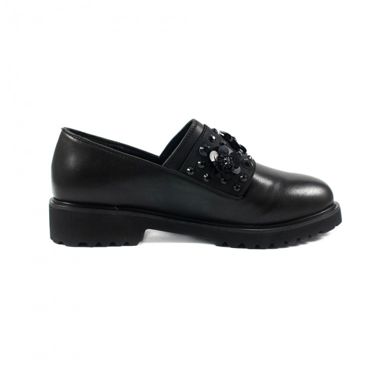 Туфли женские Fabio Monelli K537-X54A черные