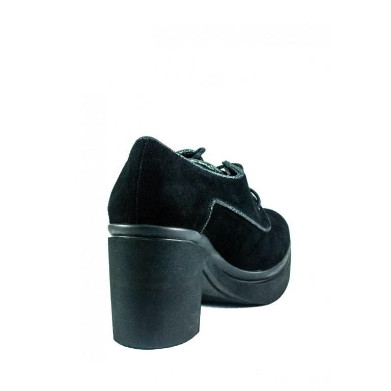 Туфли женские MIDA 210233-17 черные