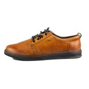 Туфли мужские MIDA 110927-5 коричневая кожа