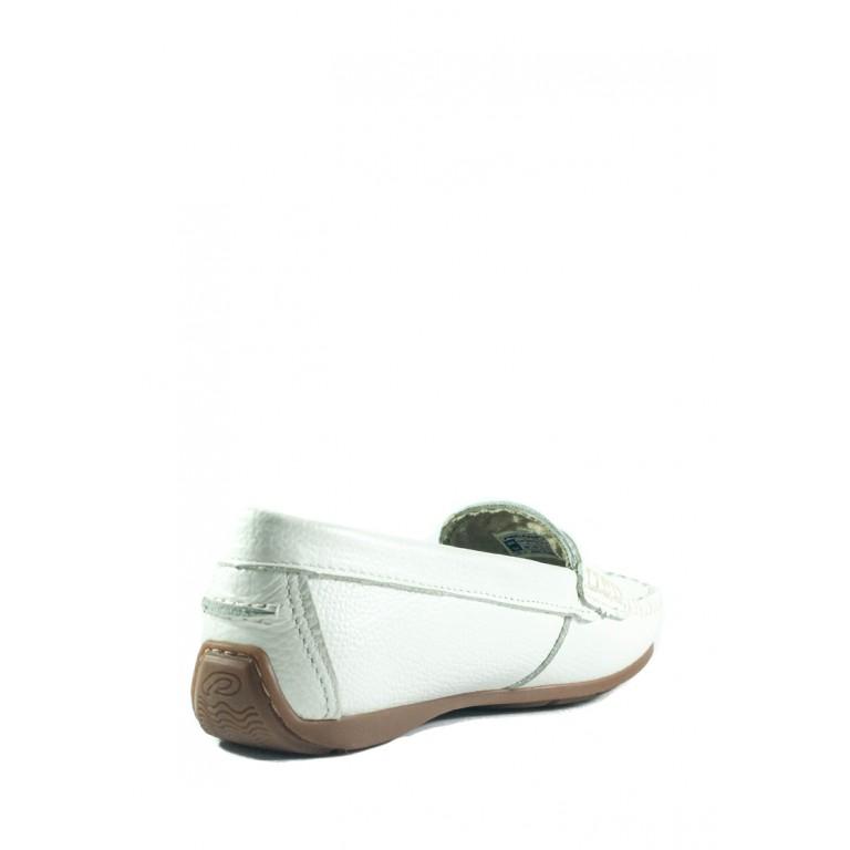 Мокасины женские Pegada 249002-01 белые